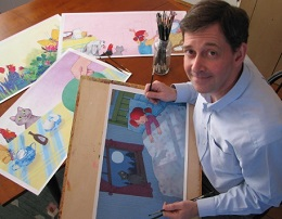 Will Hillenbrand, author/illustrator